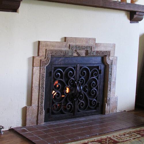 California | Fireplace Door Guy