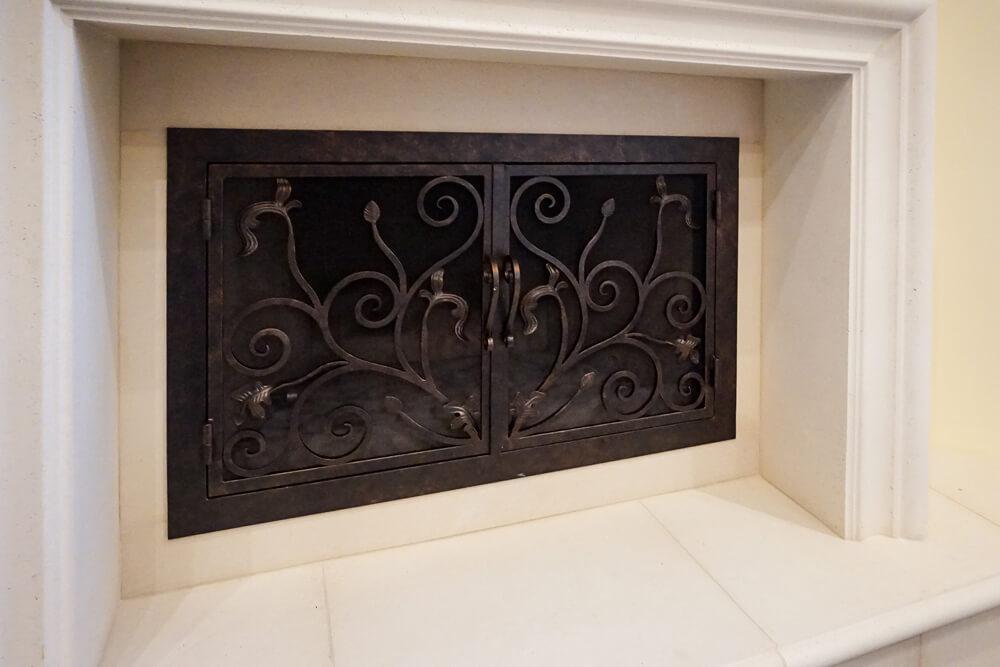 Fireplace Door fireplace door guy : Rectangular Custom Fireplace Doors   Fireplace Door Guy