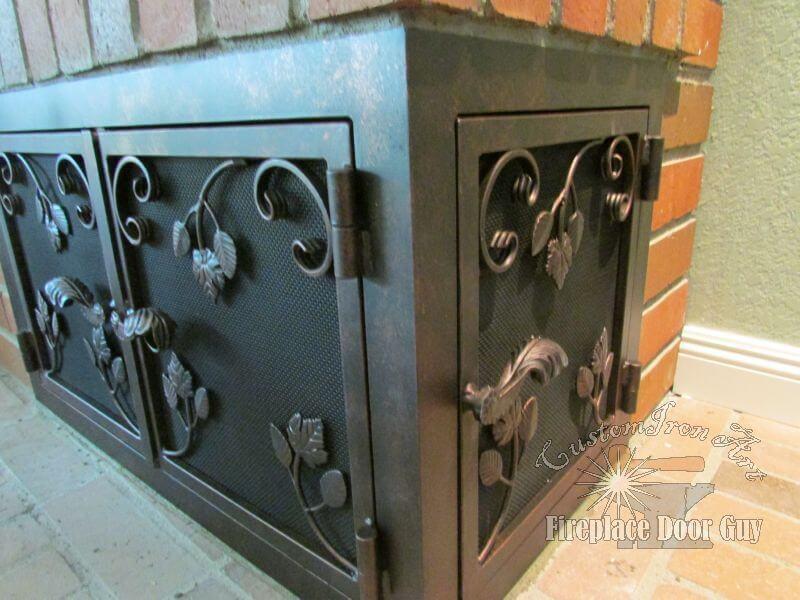 U Shaped Doors Fireplace Door Guy