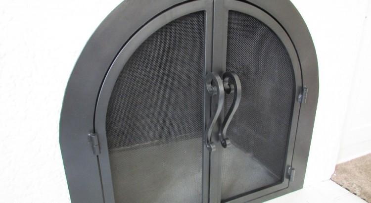 Arched Doors Fireplace Door Guy