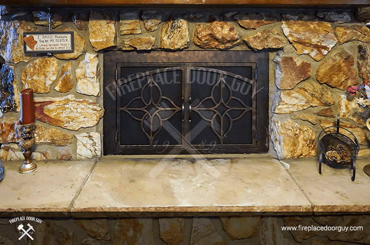 Stone Fireplace In Arizona