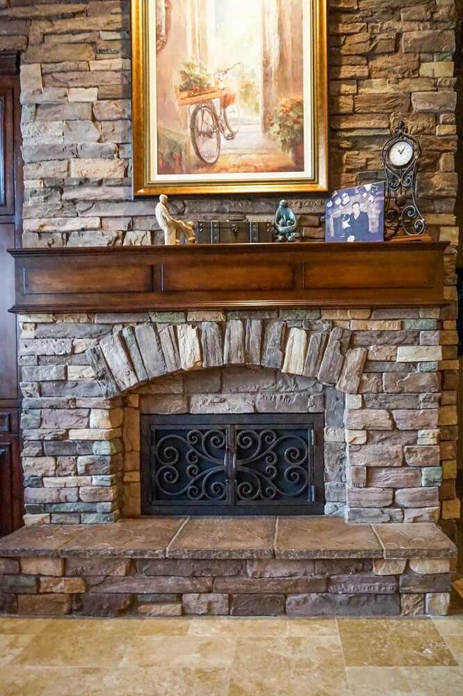 Arched Inside Rectangular Fireplace Doors Fireplace Door Guy