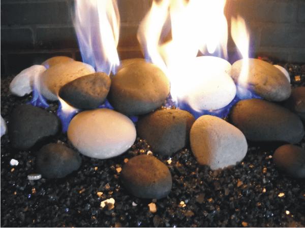 ceramic gas fireplace logs fireplace door guy