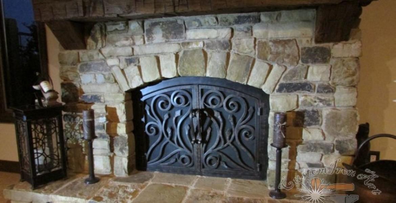 reasons you need an iron fireplace door at home fireplace door guy