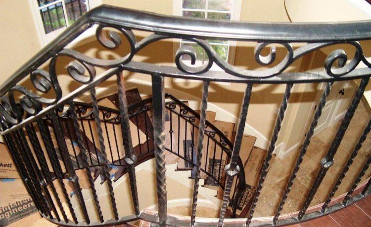 Stairs-Wrought-Iron-Railings
